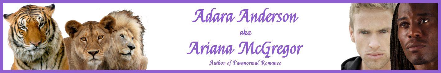 Adara Anderson aka Ariana McGregor